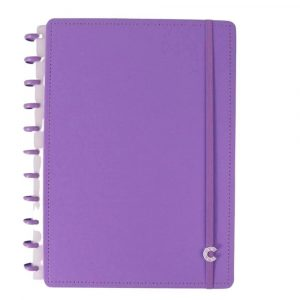 Caderno Inteligente Grande All Purple 80 Folhas CIGD4089