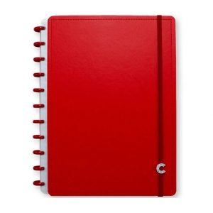 Caderno Inteligente Grande All Red 80 Folhas CIGD4094
