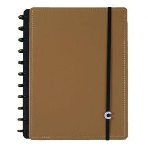 Caderno Inteligente Grande Caramelo 80 Folhas CIGD4192