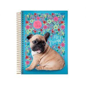 Caderno Pets Love 300fls Jandaia