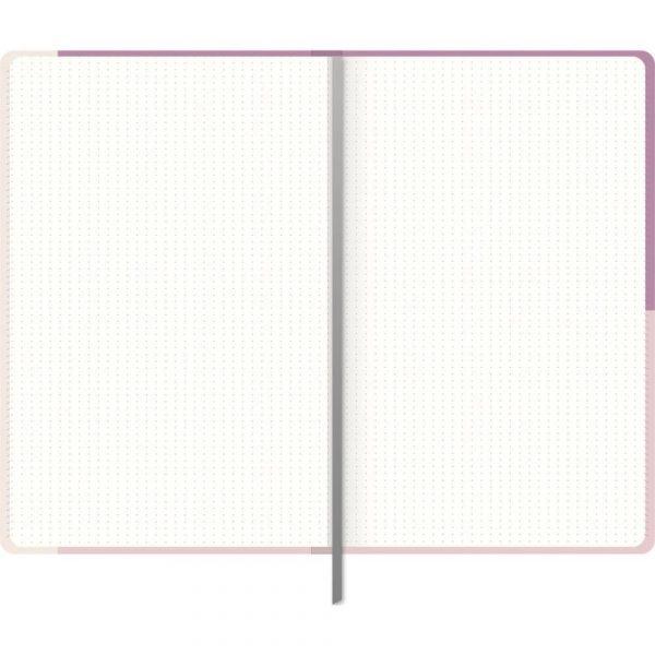 Caderno Pontilhado Pequeno Lucky Me Costurado 80Fls Foroni 4795970