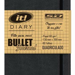 Caderno Quadriculado Para Bullet Journal