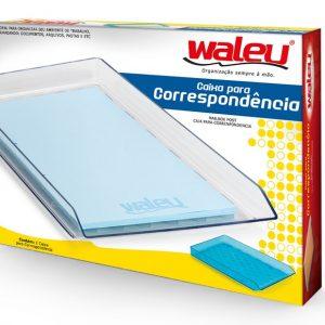 CAIXA CORRESPONDENCIA WALEU SIMPLES CRISTAL 10050002