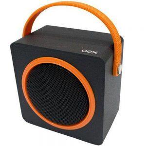 CAIXA DE SOM OEX BLUETOOTH SPEAKER BOX 10W RMS PRETO/LARANJA SK404
