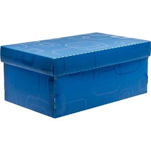 CAIXA DELLO ORGANIZADORA BOX MINI/SAPATO AZUL 280X170X120MM 2169C005