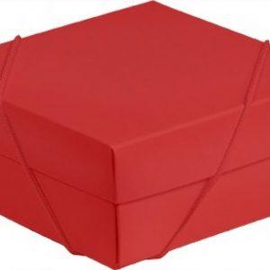 Caixa Presente Média c/ Elásico Flexivel Vermelho Up Box 269