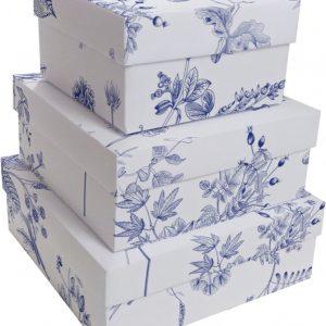 Caixa Presente Quadrada G Flores de Lisboa Up Box 3161