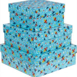 Caixa Presente Up box Quadrada Planetario Media