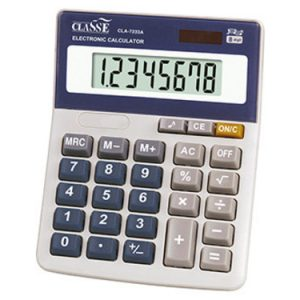CALCULADORA CLASSE CLA9819 14X11,5X3,8CM 8DIG
