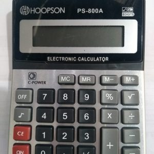 CALCULADORA HOOPSON PC800A 15X11X3CM 8DIG