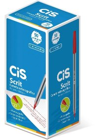 CANETA CIS 0.7 SCRIT VERMELHO CX50 530600