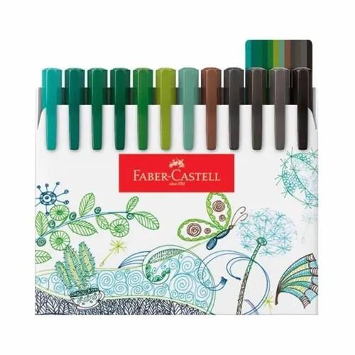 CANETA FABER CASTELL FINE PEN 0.4 48 CORES FPB/ES48ZF