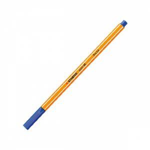 Caneta Hidrográfica Point 88 Stabilo 88/41 Azul Escuro