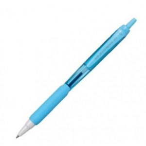 CANETA RETRATIL UNI BALL JETSTREAM 0.7 AZUL CLARO/AZUL SX101FL 531000