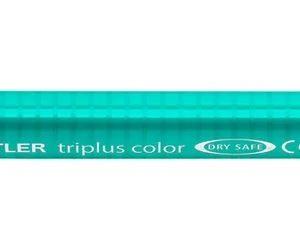 Caneta Staedtler Triplus 1.0mm Verde Francês Ponta Fibra Sintética 323-54