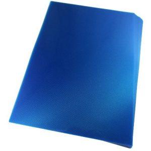 Capa Para Encadernação Alaplast Azul Line Frente A4 50 Unidades