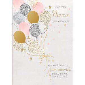 Cartão Aniversário Grafons Balões 30578
