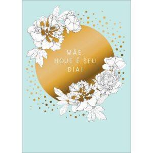 Cartão Mães Grafons Flores Brancas 31676