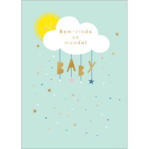 Cartão Nascimento Grafons Nuvem Baby 30681