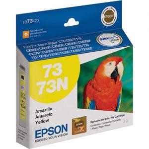Cartucho Epson T073420 Amarelo Original