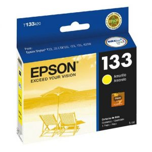 Cartucho Epson T133422 Yellow Original