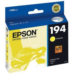 Cartucho Epson T194422 Yellow Original