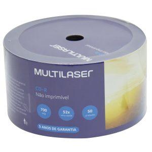 CDR MULTILASER 700MB 52X CD051 PCT50
