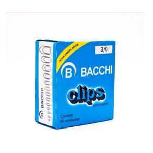 Clips 3/0 Bacchi Cx 50 unidades 3080776