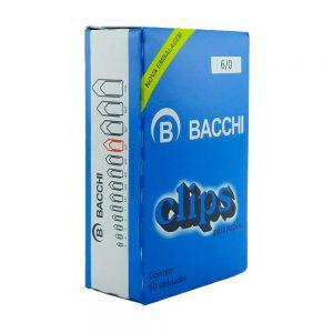 Clips 6/0 Bacchi Cx 50 unidades 3081526