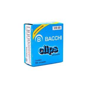 CLIPS BACCHI 1/0 100UND