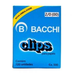 CLIPS BACCHI 2/0 500GRS 720UND