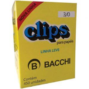 CLIPS BACCHI 3/0 LEVE 450UND
