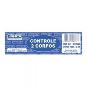 CONTROLE 2 CORPOS SAO DOMINGOS 100FLS PCT20 6876