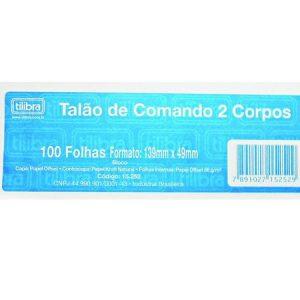 CONTROLE 2 CORPOS TILIBRA 100FLS PCT20