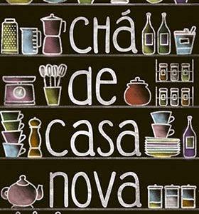 CONVITE CHA CASA NOVA 10UND LITOARTE C270