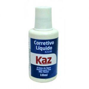 CORRETIVO LIQUIDO KAZ 18ML