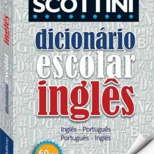 DICIONARIO SCOTTINI INGLES 60MIL VERBETES TODO LIVRO