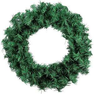Enfeite De Natal Guirlanda Verde 40cm Magizi 13855