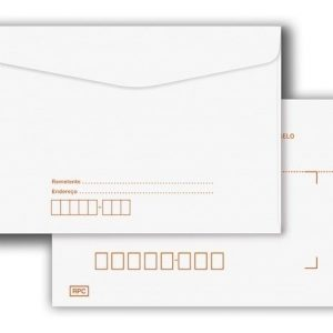 ENVELOPE CARTA COM RPC 114X162 BRANCO FORONI CX100 6300