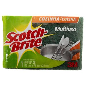 Esponja Dupla Face Scotch Brite 3M