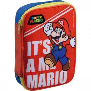 Estojo Box Foroni Super Mario I'ts a Me p/100 Lápis 4259695
