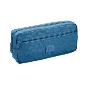 Estojo Duplo Grande Fluor Mix Azul Foroni 4160389