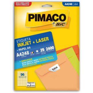 ETIQUETA PIMACO A4 LASER 248 N96 25FLS 17,0X31,0MM