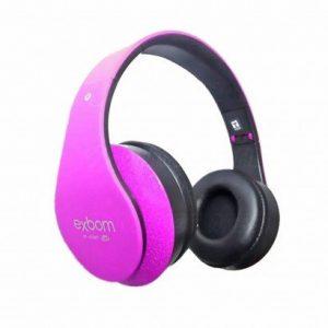FONE DE OUVIDO EXBOM BLUETOTH FM CORES HF400BT