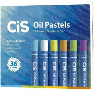 Giz Pastel Oleoso 36 Cores - Cis