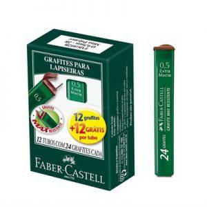 GRAFITE FABER CASTELL 0.5 B MEDIA VD 24UND TMG05B CXM12