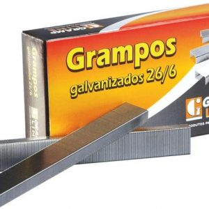 Grampo 26/6 Galvanizado C/1000 Unidades - Gramp Line
