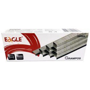 Grampo 26/6 Galvanizado Eagle c/ 5000 Und - Eagle