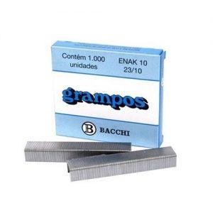 Grampo Galvanizado Bacchi 23/10 Enak CX C/5000 Unid 3221106
