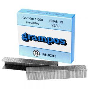 Grampo Galvanizado Bacchi Enak 23/13 CX C/5000 Unid